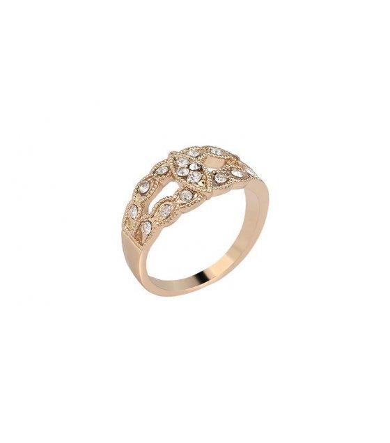 R167 - Carved Black Retro Ring