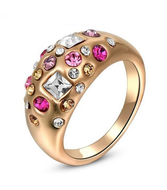 R192 - Colorful Multistone Ring