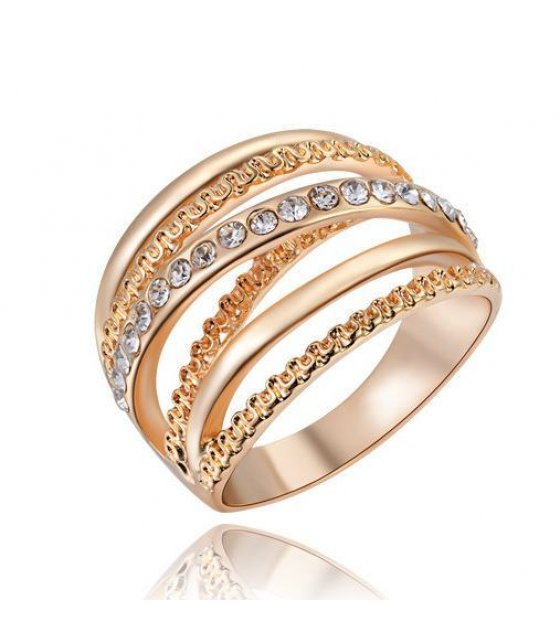 R225 - Rose Gold Diamond Ring
