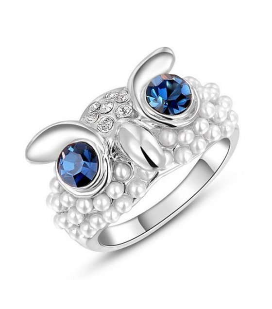 R226 - Luxury Owl Ring