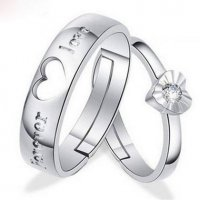 R244 - Lovers Choice Ring Couple Set