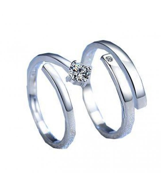 R251 - Luxury Lovers Couple Ring Set
