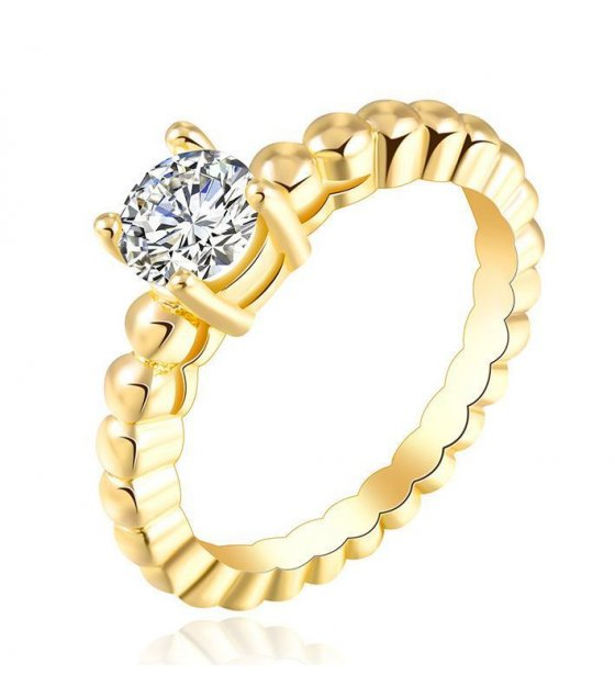 R270 - Twisted Gold Ring