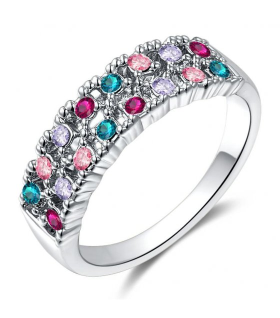 R276 - Colored Gemstone Ring