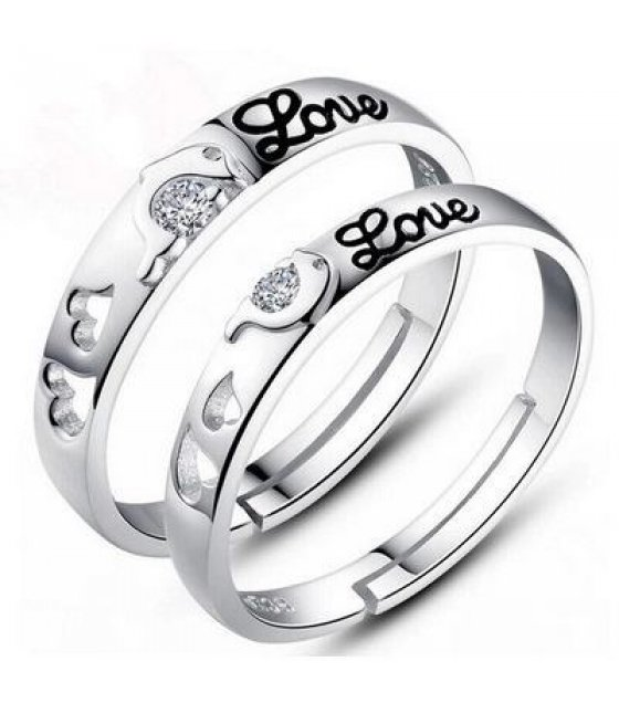 R282 - Love Couples ring