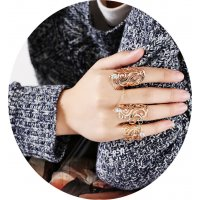 R284 - Hollow Gold Ring