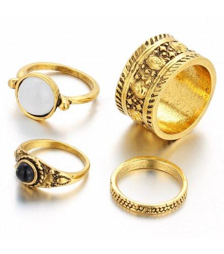 R300 - Vintage Bronze Ring Set