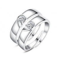 R354 - Heart couple Ring