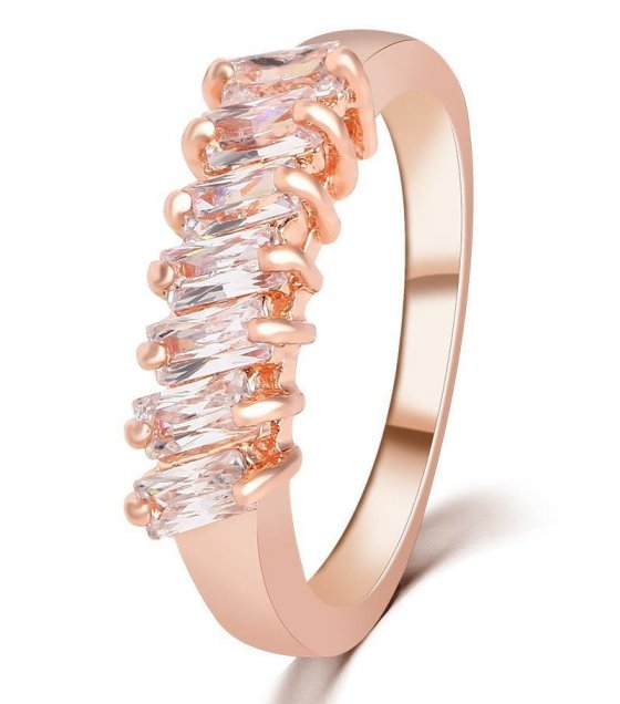 R361 - Elegant Rose Gold Ring