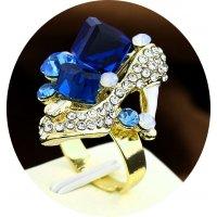 R396 - Blue Gemstone ring