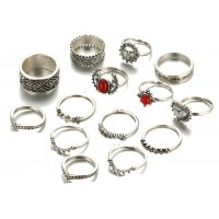 R410 - Silver Ring Set