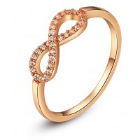 R412 - Exquisite Infinity Ring