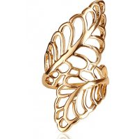 R429 - Alloy Leaf Ring