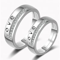 R435 - LOVE Couple ring