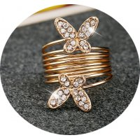 R444 - Drill double butterfly spring ring