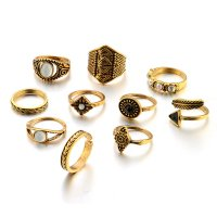 R447 - Ancient Silver Ring Set
