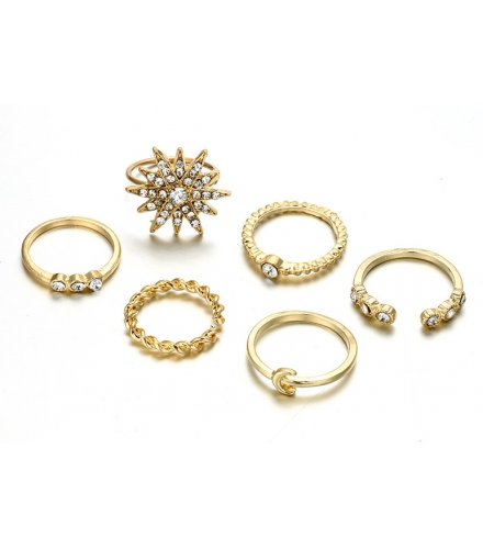 R466 - Temperament alloy drop opening ring set
