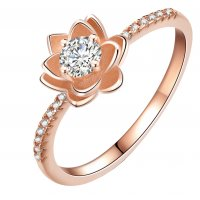 R491 - Fashion flower ring