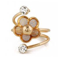 R520 - Floral Fashion Ring