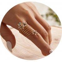 R521 - Spring flower ring