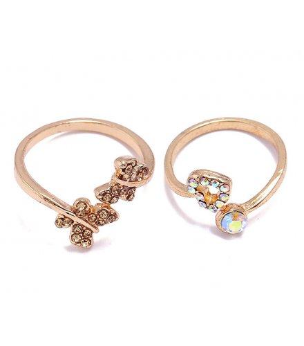 R522 - Korean Hollow Heart Shaped Ring