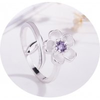 R524 - Fashion wild flower ring