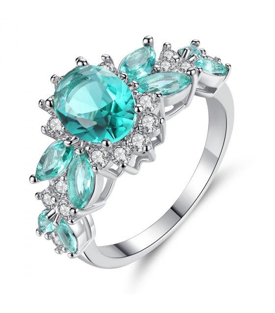 R528 - Baolan zircon ring