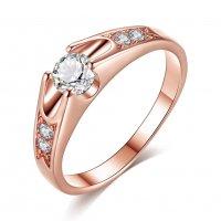 R532 - Korean Inlaid Rose Ring