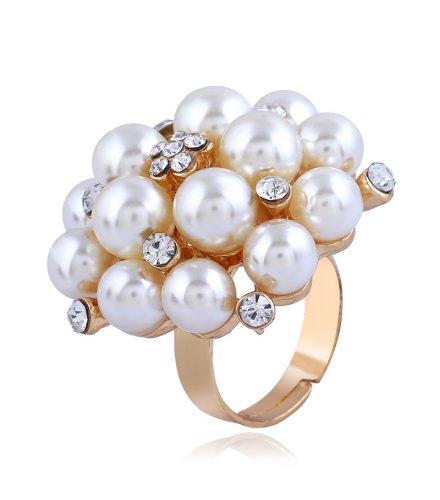 R546 - Adjustable pearl ring