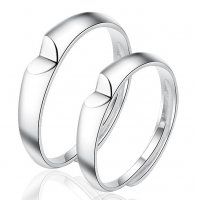 R561  Korean fresh love Couple ring