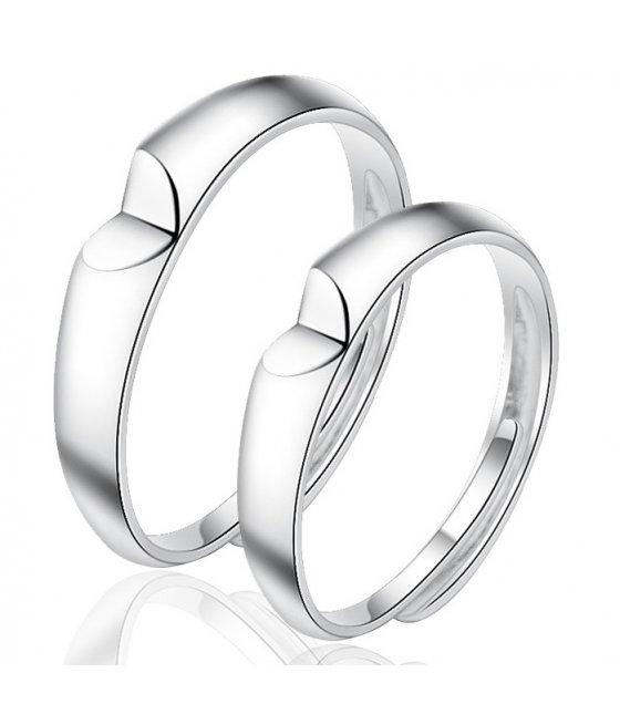 R561  Korean fresh love Couple ring