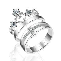 R564 - Crown Couple Ring
