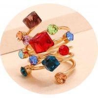 R571 - Crystal gem ring