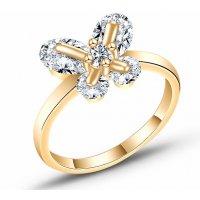 R581 - Sweet bow zircon ring