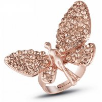 R586 - Korean Angel Wings Diamond Ring