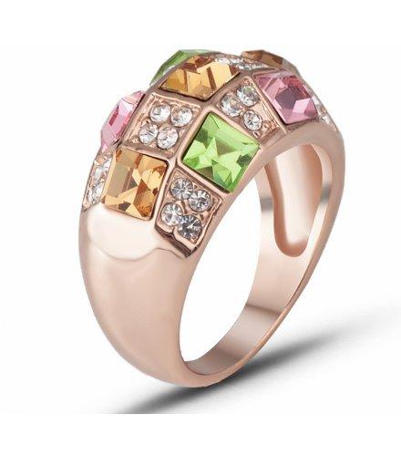 R588 - Colorful Gemstone Ring