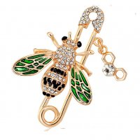 SB156 - Small bee brooch