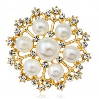 SB195 - Korean fashion pearl brooch