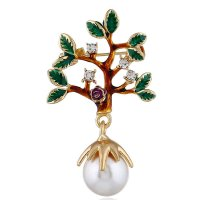 SB253 - Small tree brooch