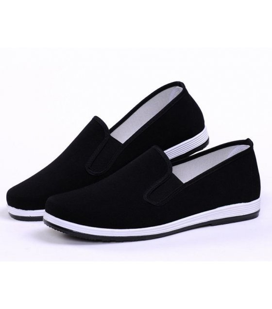 MS012-44Size - Black Casual Shoes