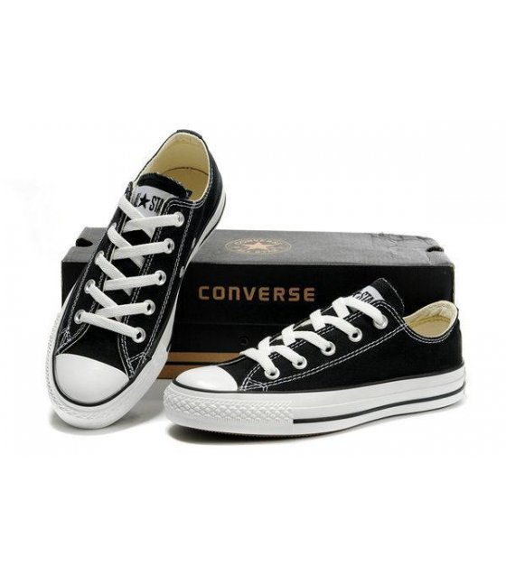 MS021-38Size - Black Canvas Shoes