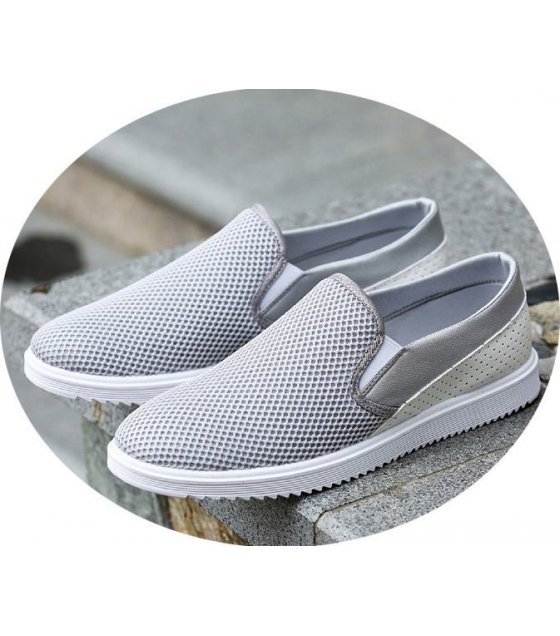 MS025-42size - Grey Casual Shoes