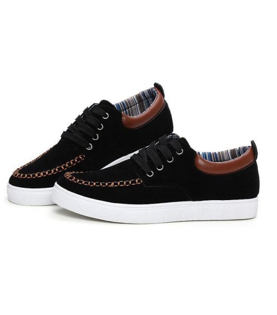 MS026-40size - Black Casual Shoes