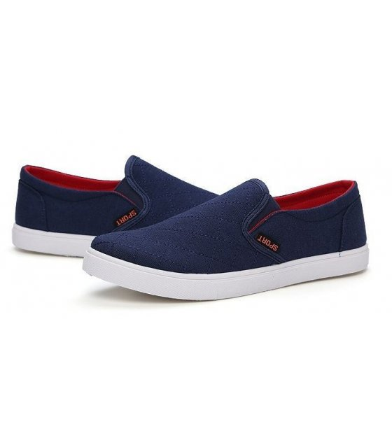 MS027-44size - Blue Casual Shoes