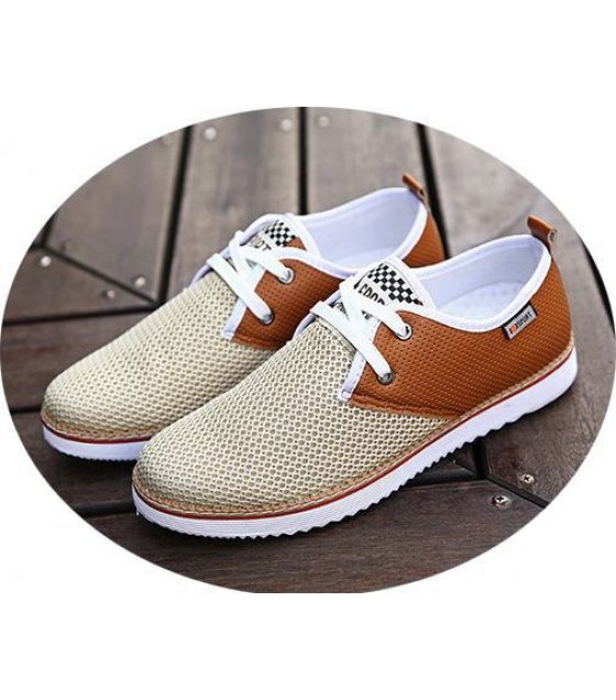MS029-42size - Brown Casual Shoes