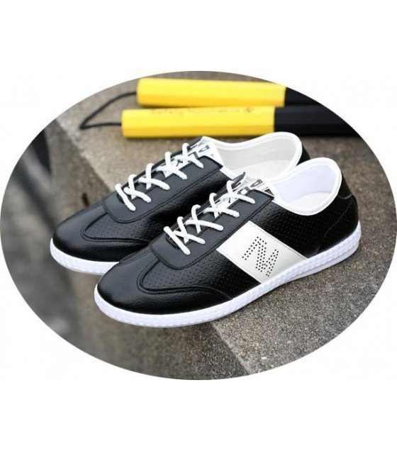 MS030 - Black Casual Shoes