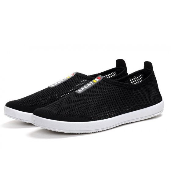 MS037-44size - Black Casual Shoes