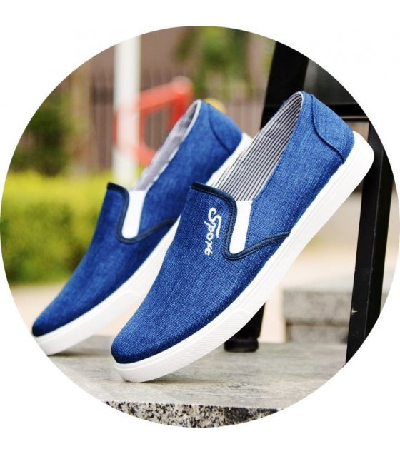 MS039-44size - Blue Casual Shoes