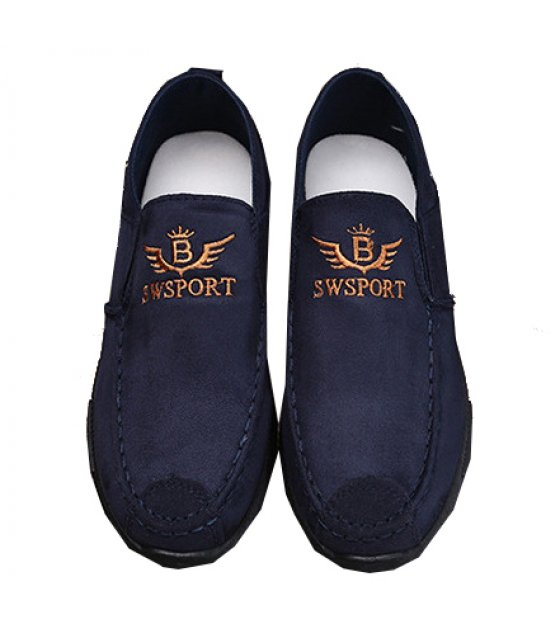 MS056 - Blue Casual Canvas Shoes