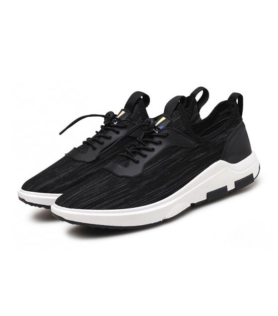 MS093 - Stylish Black  Casual Shoes